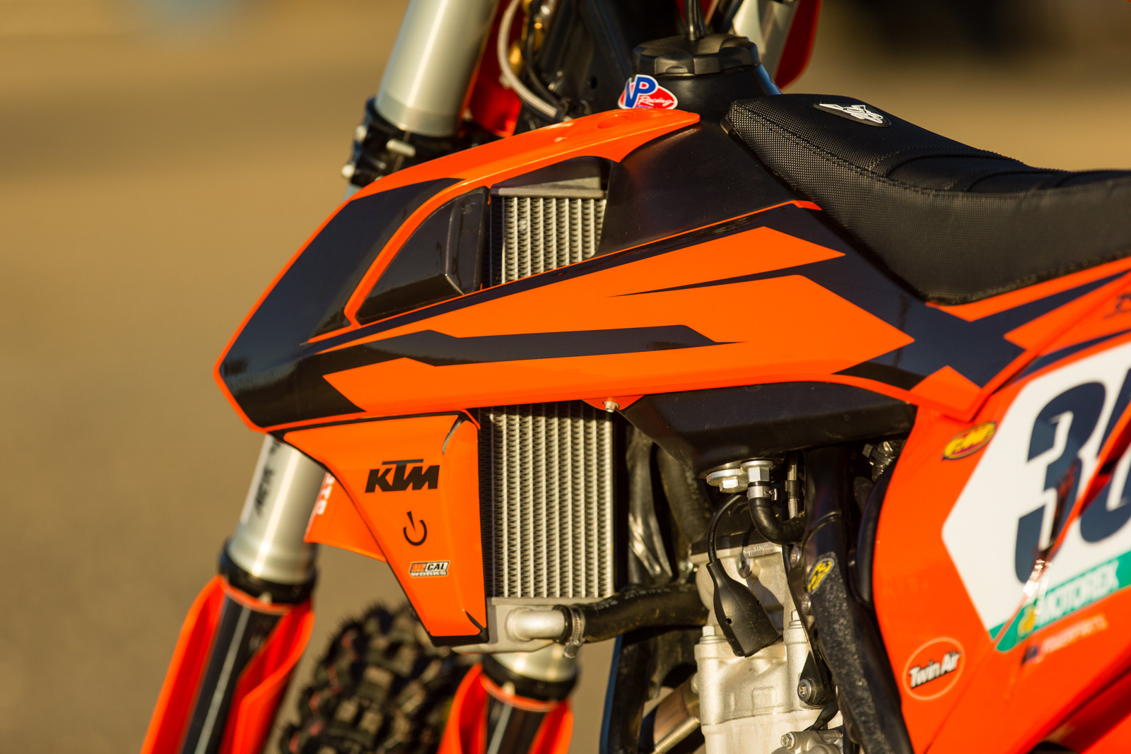 tested: project 2016 ktm powerparts 350 sx-f - motocross videos