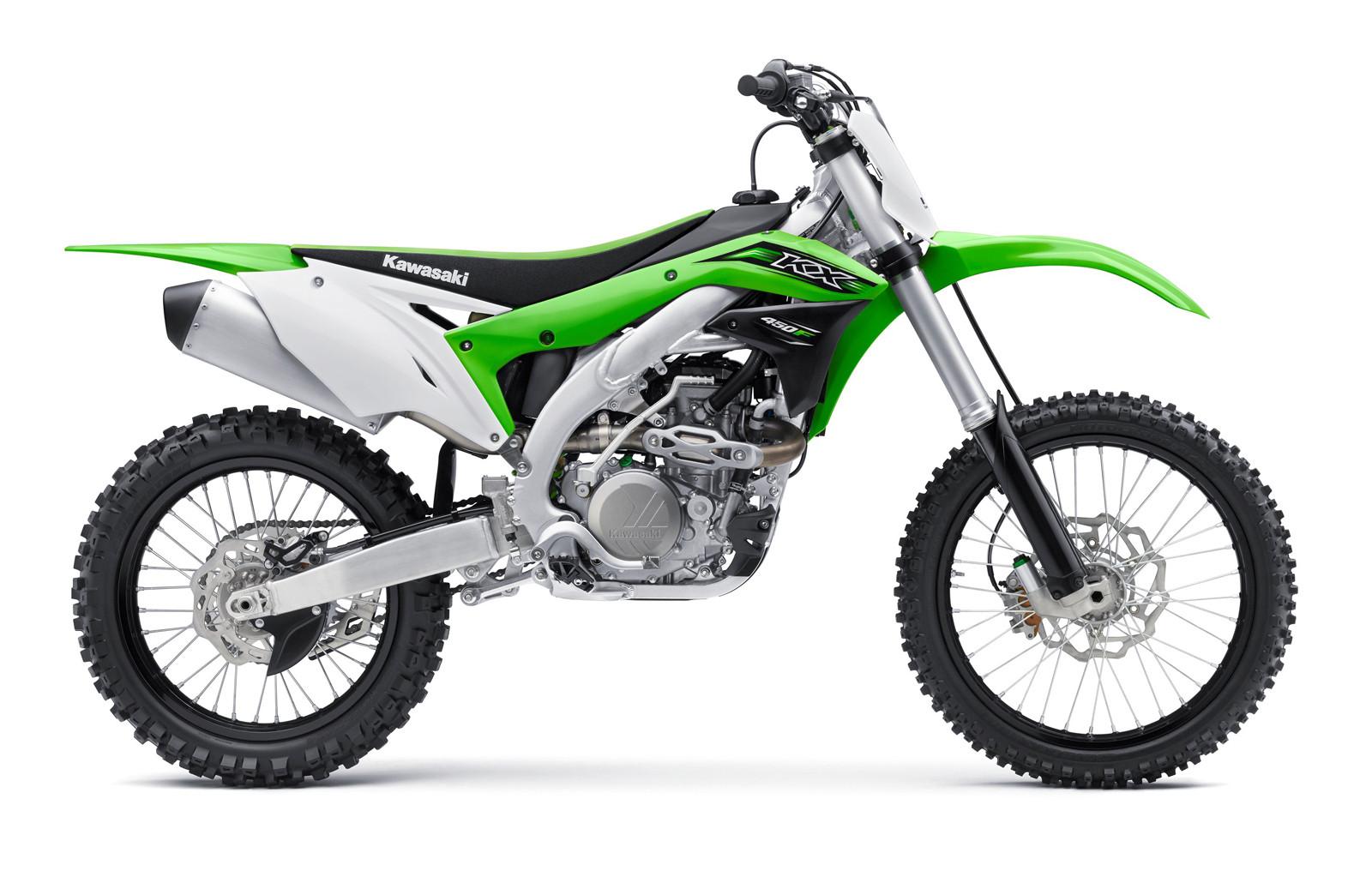 2016 Kawasaki KX450F.