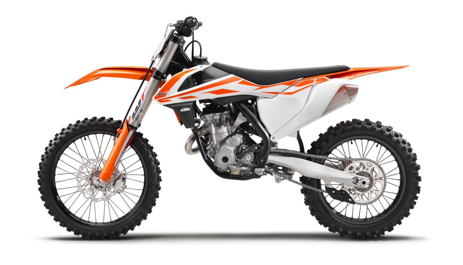 2017 ktm 350 sx-f - first look: 2017 ktm motocross and cross