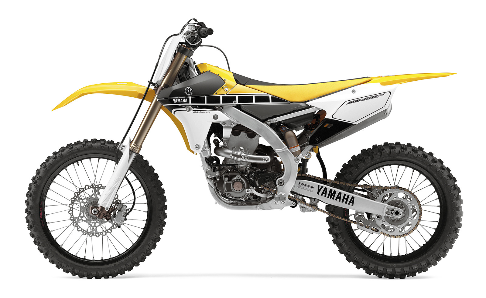 2016 yamaha yz450f first look 2016 yamaha yzf yz models motocross pictures vital mx. Black Bedroom Furniture Sets. Home Design Ideas