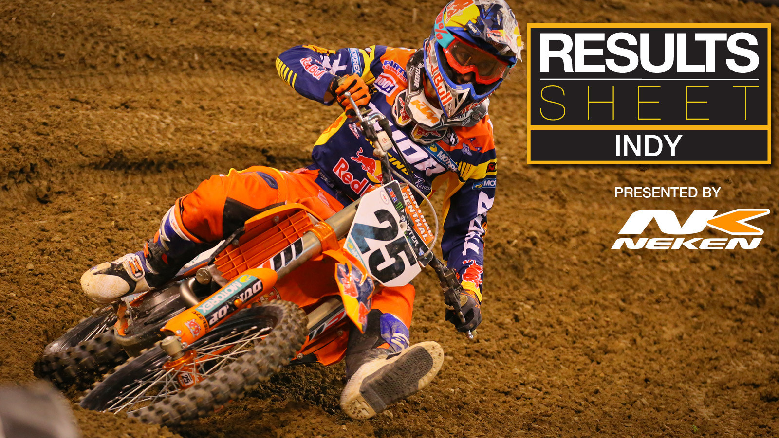 Results Sheet: Indianapolis Supercross