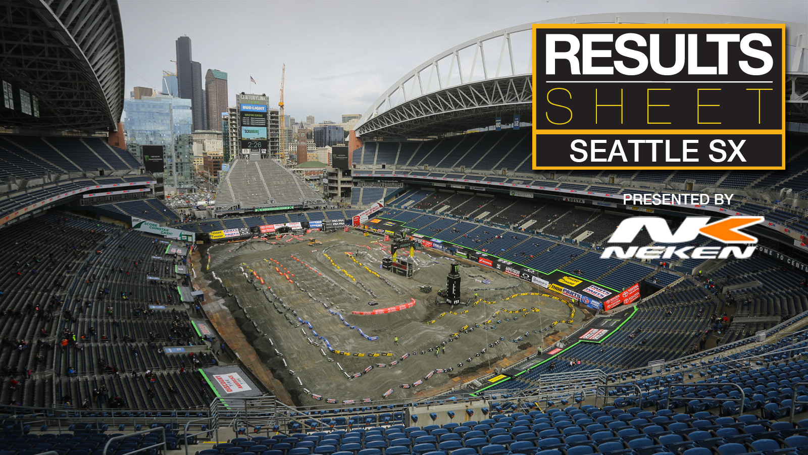 Results Sheet: Seattle Supercross