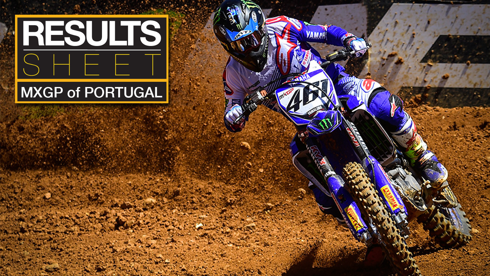 Results Sheet: 2017 MXGP of Portugal