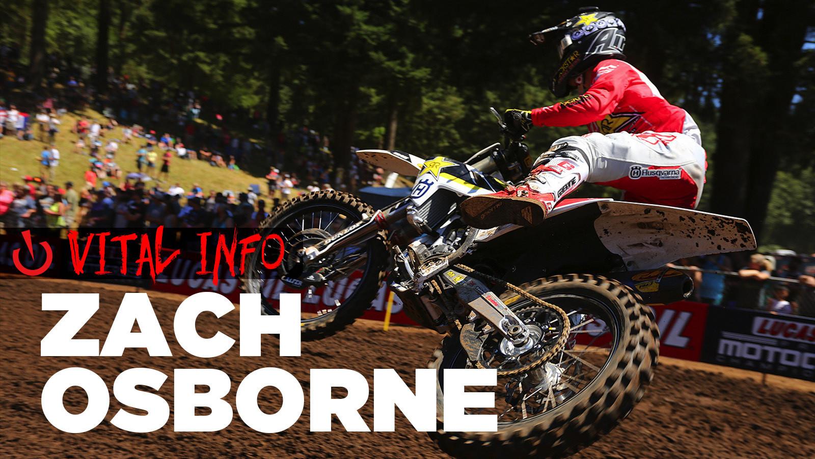Vital Info: Zach Osborne