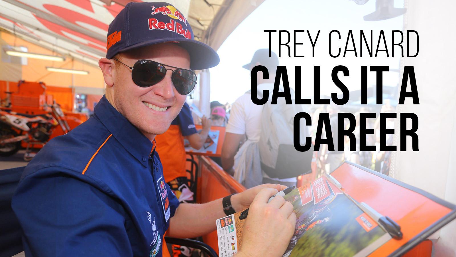 Trey Canard Calls It A Career