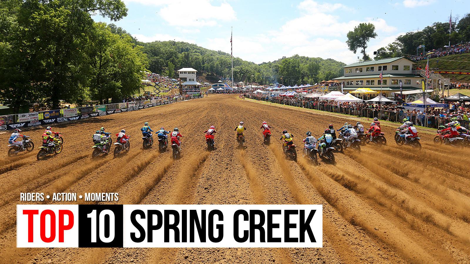 Top 10: Spring Creek