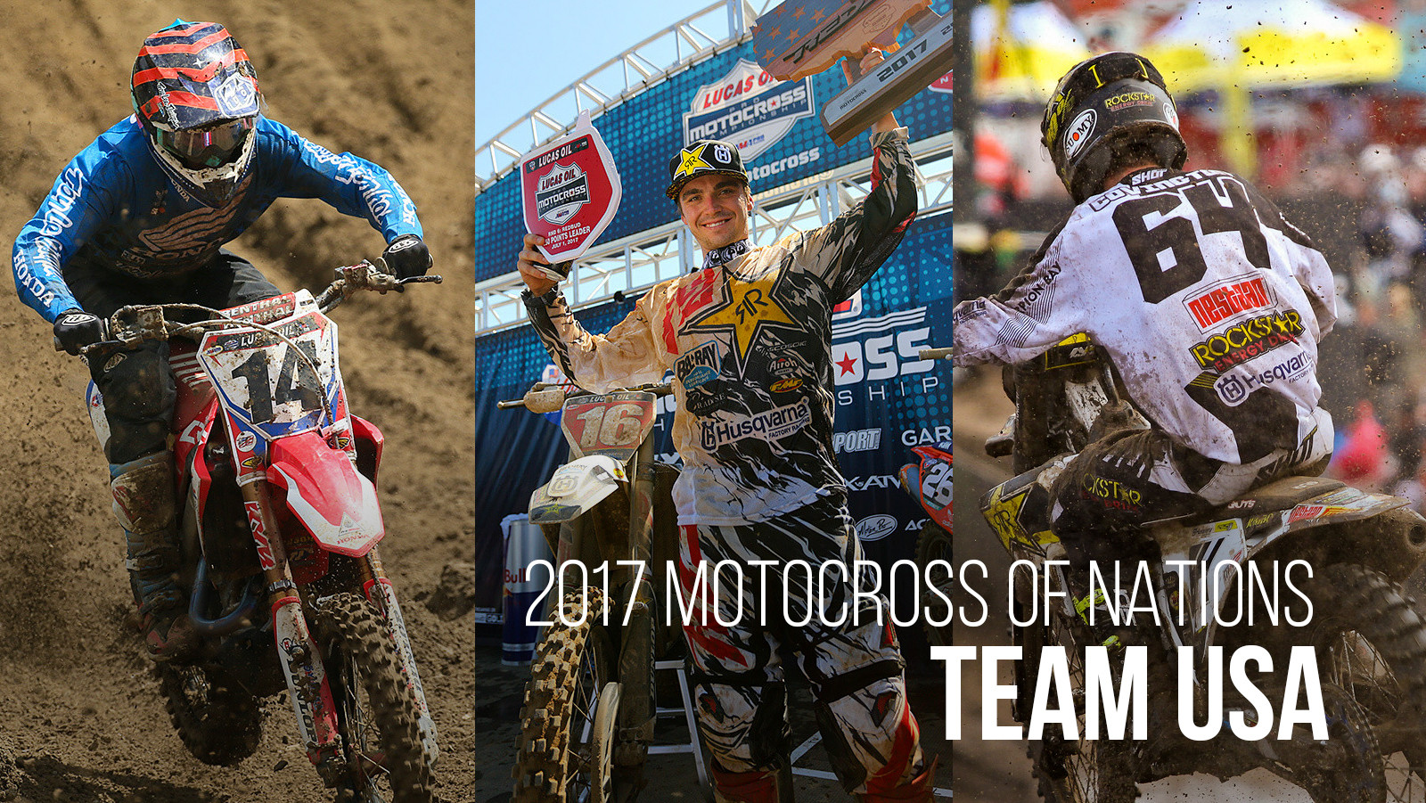 Seely, Osborne, and Covington are Team USA for '17