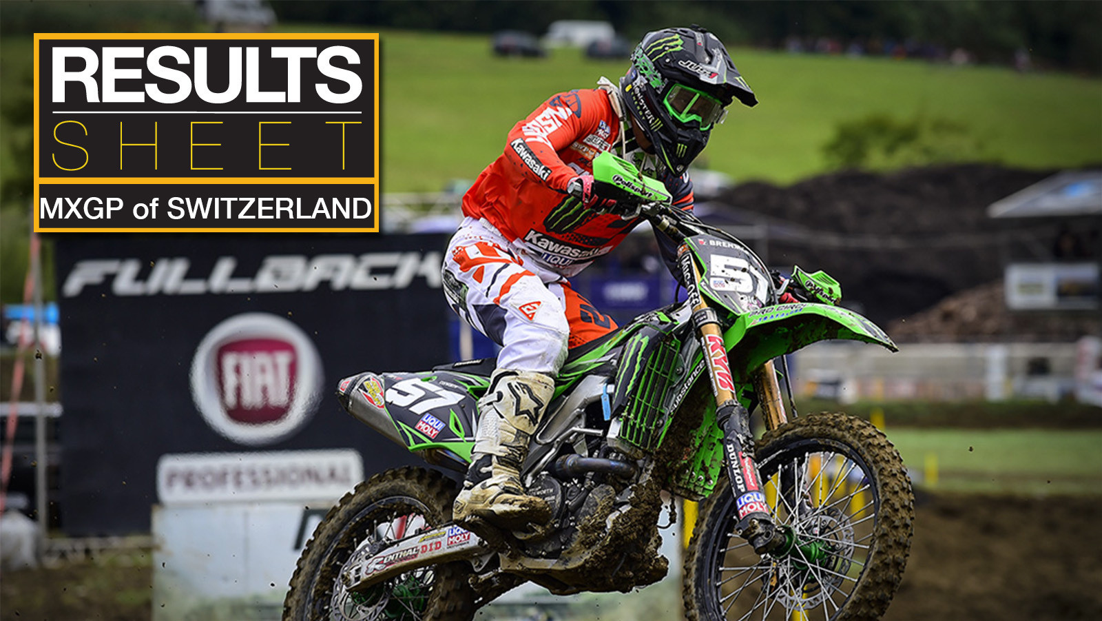 Results Sheet: 2017 MXGP of Switzerland