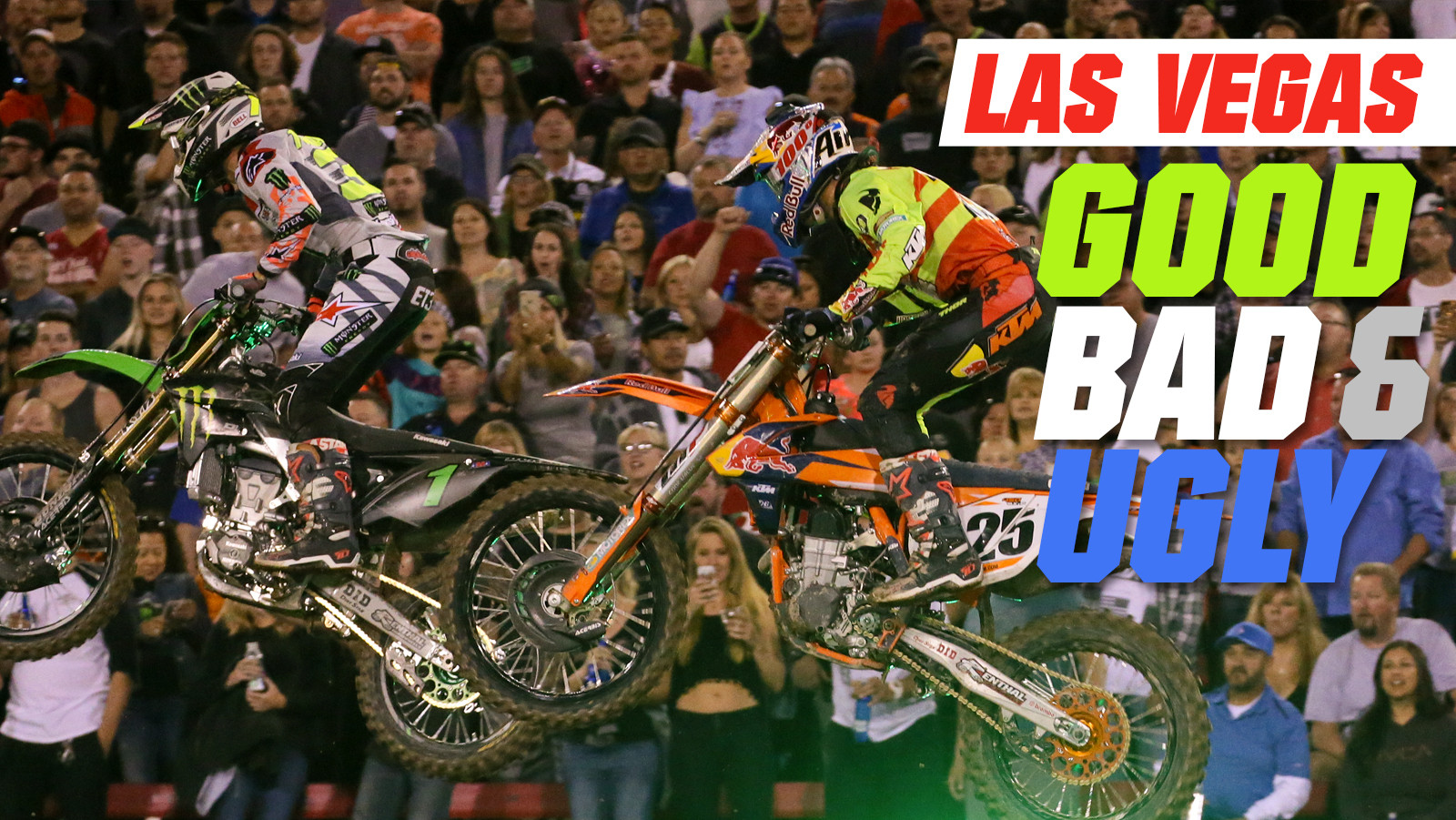 Monster Energy Cup - The Good, the Bad, and the Ugly