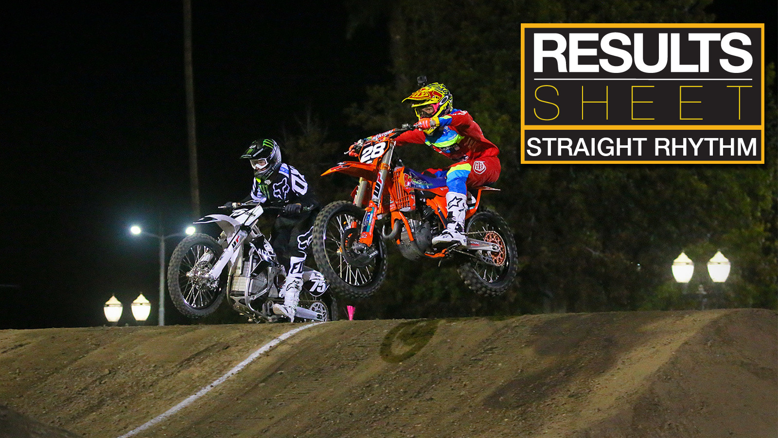 Results Sheet: 2017 Red Bull Straight Rhythm