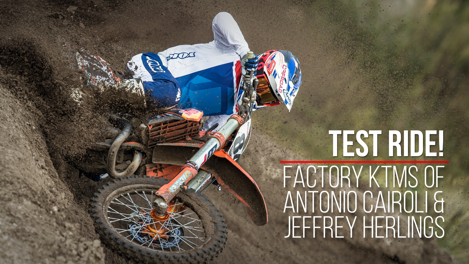 Test Ride: The Factory KTMs of Antonio Cairoli and Jeffrey Herlings