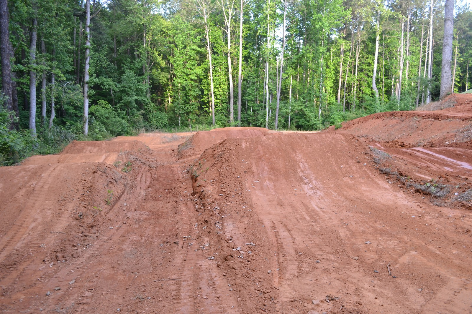 got the track re groomed today moto related motocross