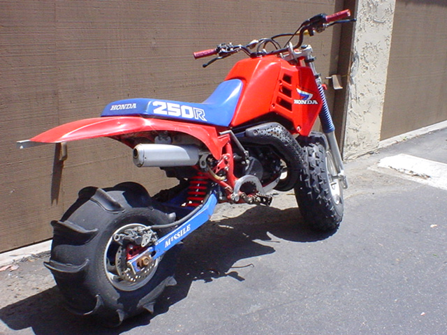 ATC 250R Three Wheeler http://www.vitalmx.com/forums/Moto-Related,20/Cool-ebay-find-85-ATC250-2-wheel,1238742