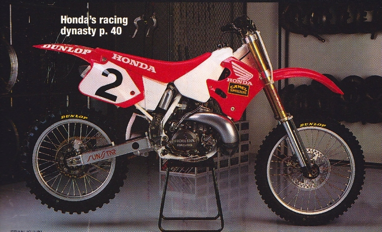 Honda Motocross Bikes Here is a big one. Tea...