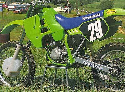 photo request – ron lechien works kawasaki sr125 - old school moto