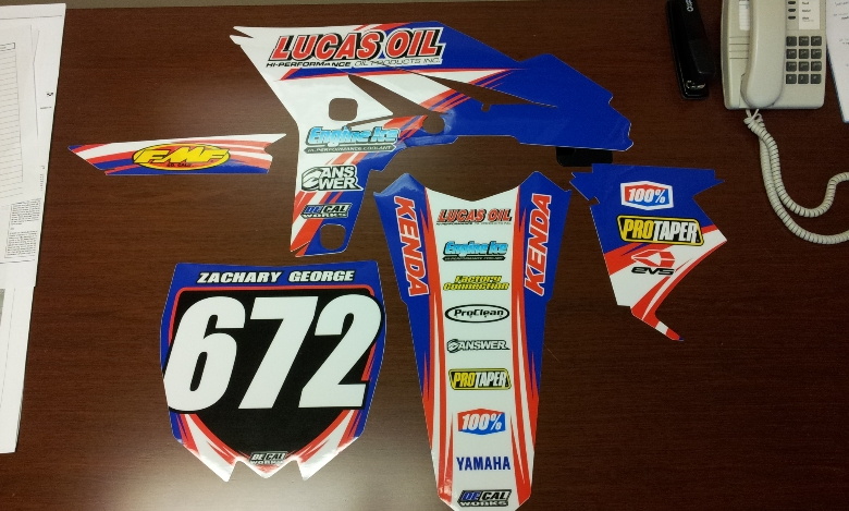 Thanks DeCal Works MotoRelated Motocross Forums  Message - Decal works graphics