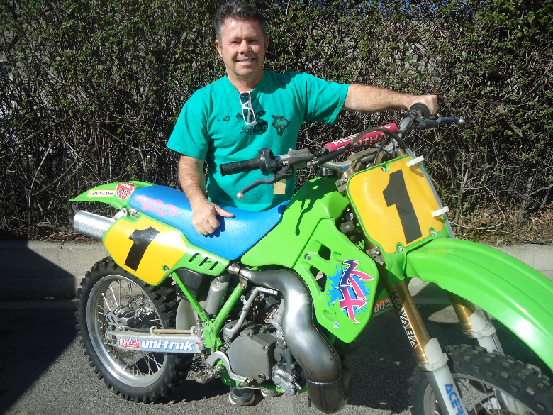 EBAY Jeff Ward's KX250SR's 85 and 88 and 84 KX125SR - Moto ...