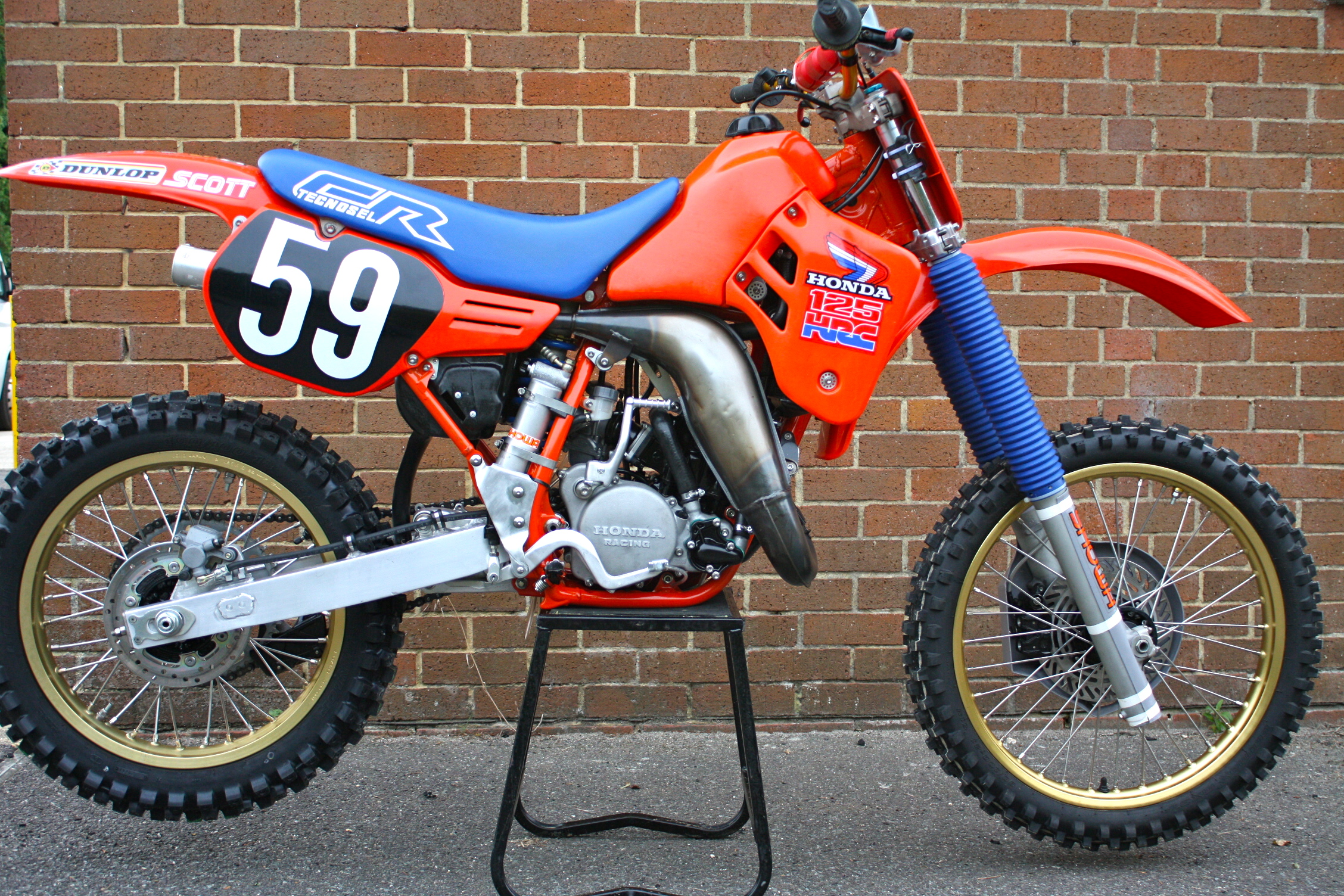 1986 CR 250 will live again. - Old School Moto - Motocross Forums