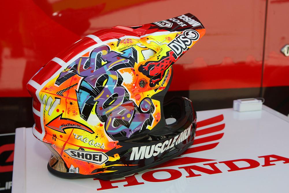 Custom Painted Off Road Helmets