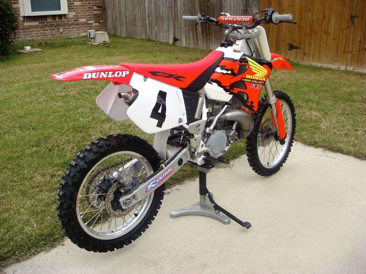 1996 Cr250 Mcgrath Replica Rebuild Bike Builds