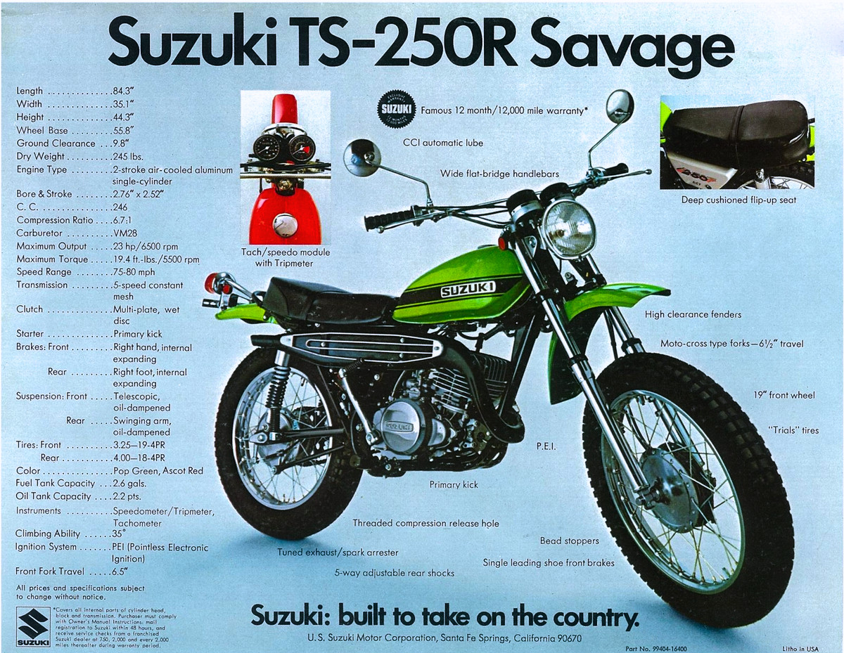 Can you believe that in 1969 this was considered a dirt bike moto