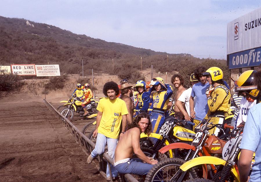 Broc Glover JT Racing Vintage Supercross motocross signed ...