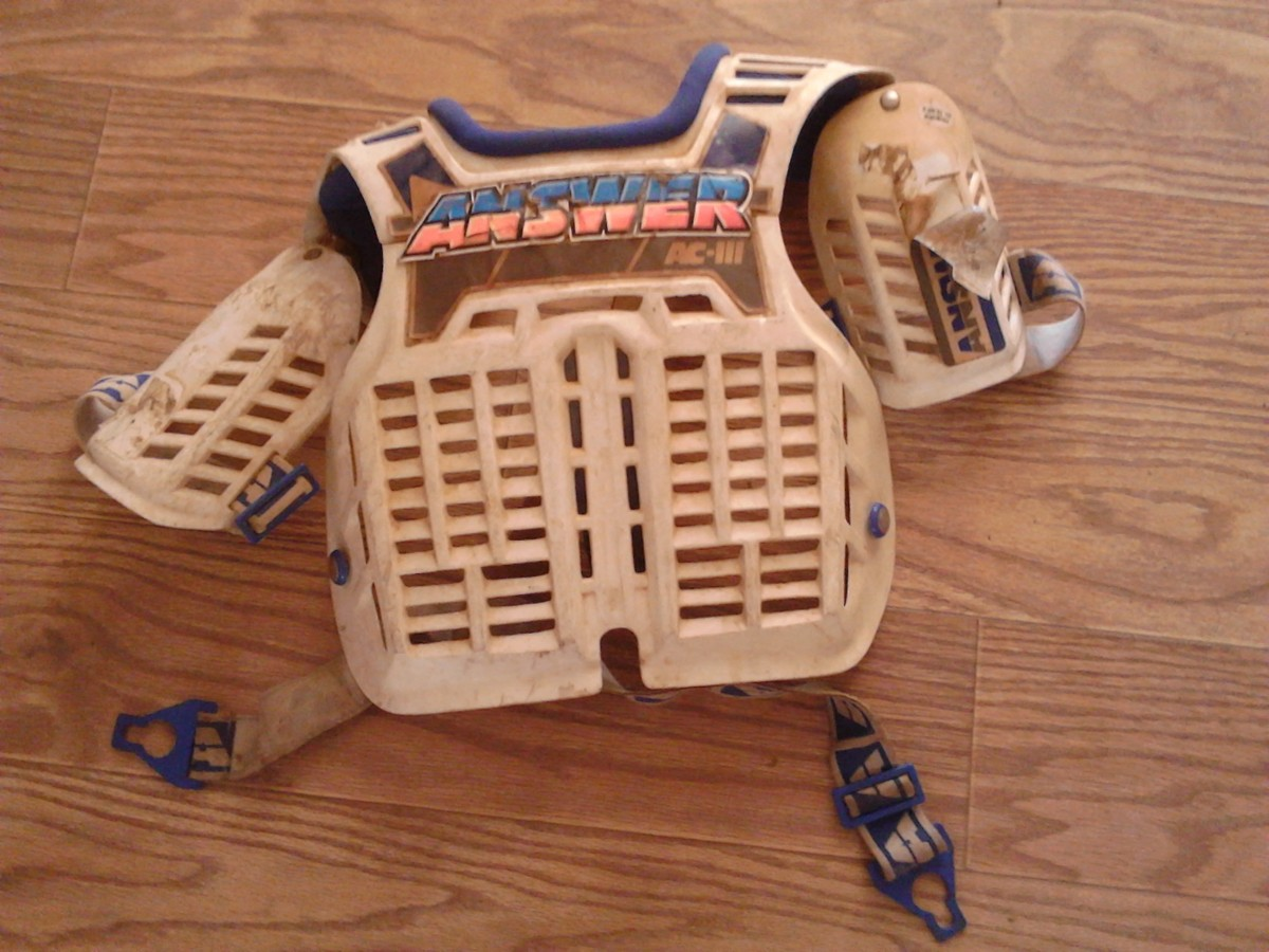 Vintage Answer Chest Protector And Pants For Sale Bazaar