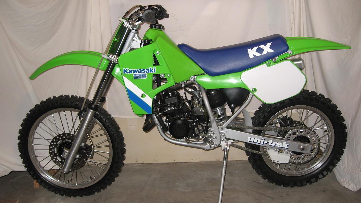 restoring kx125 1985 - old school moto - motocross forums