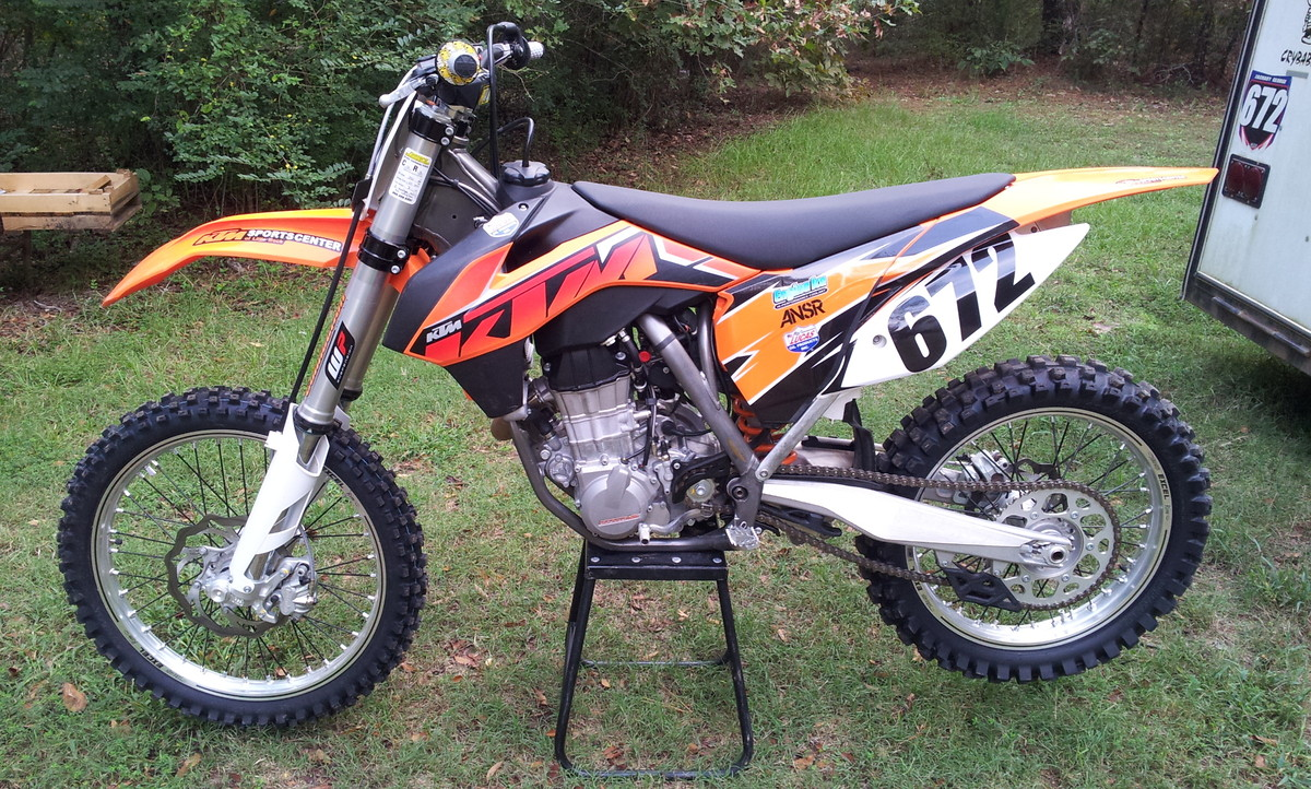 Zachs  KTM SXF Decal Works Numbers MotoRelated - Decal works graphics