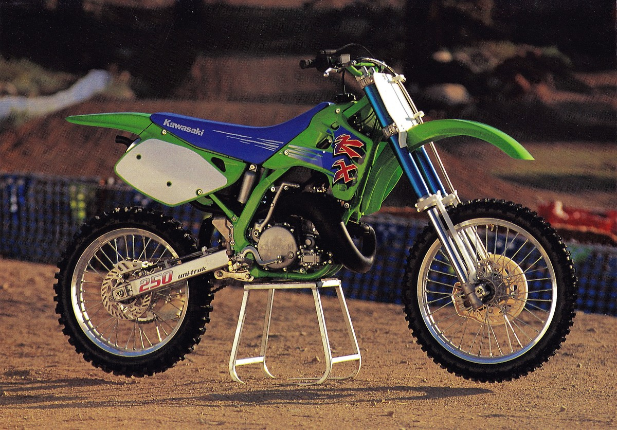 1990 kawasaki 250 kx cdi wiring this week's classic steel is a look back at the 1990 ...