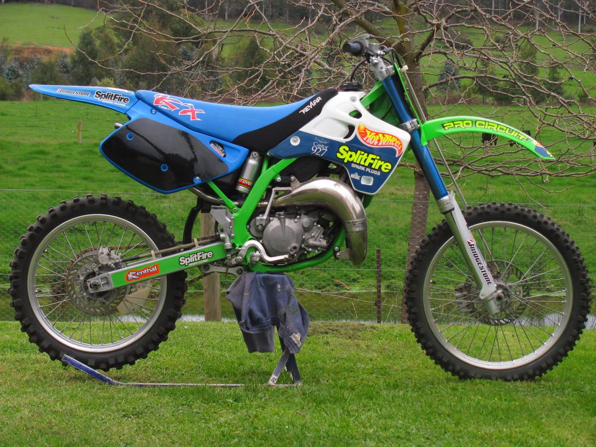 1991 KX 125 Resto retrospective - Old School Moto ...
