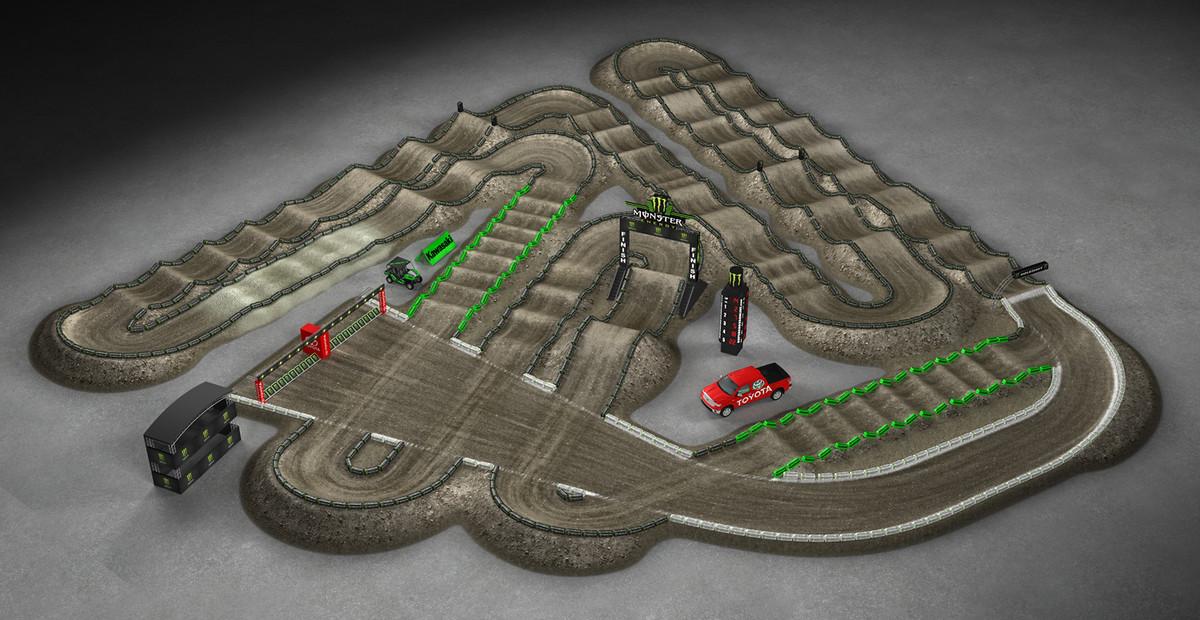 2014 Monster Energy Supercross Track Preview - Motocross Feature ... Supercross 2014 Track