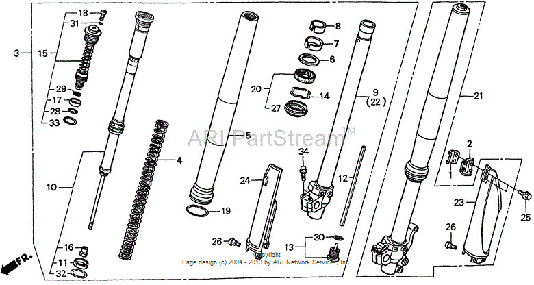 S Honda Front Fork on Wiring Diagrams Honda 125 4 Er