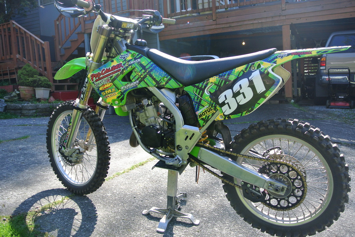 kx 125 owners..previous and current please. - moto-related