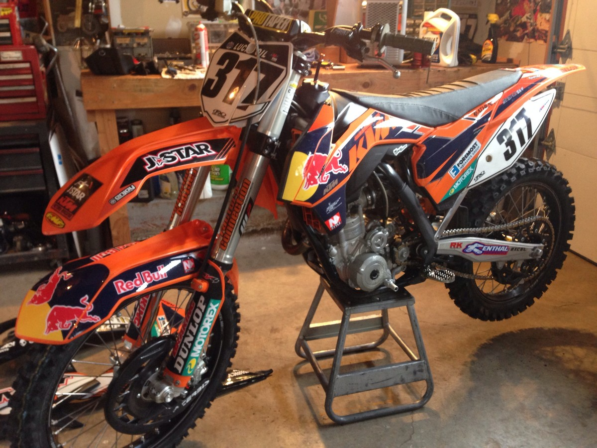 graphics 12' ktm 250 (your imo)? - tech help/race shop - motocross