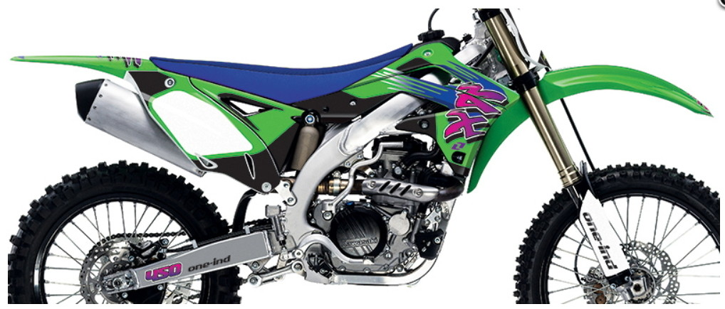 Retro Kawasaki Graphics