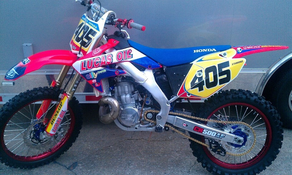 2008 service honda cr500af for sale bazaar motocross for Honda bowie service