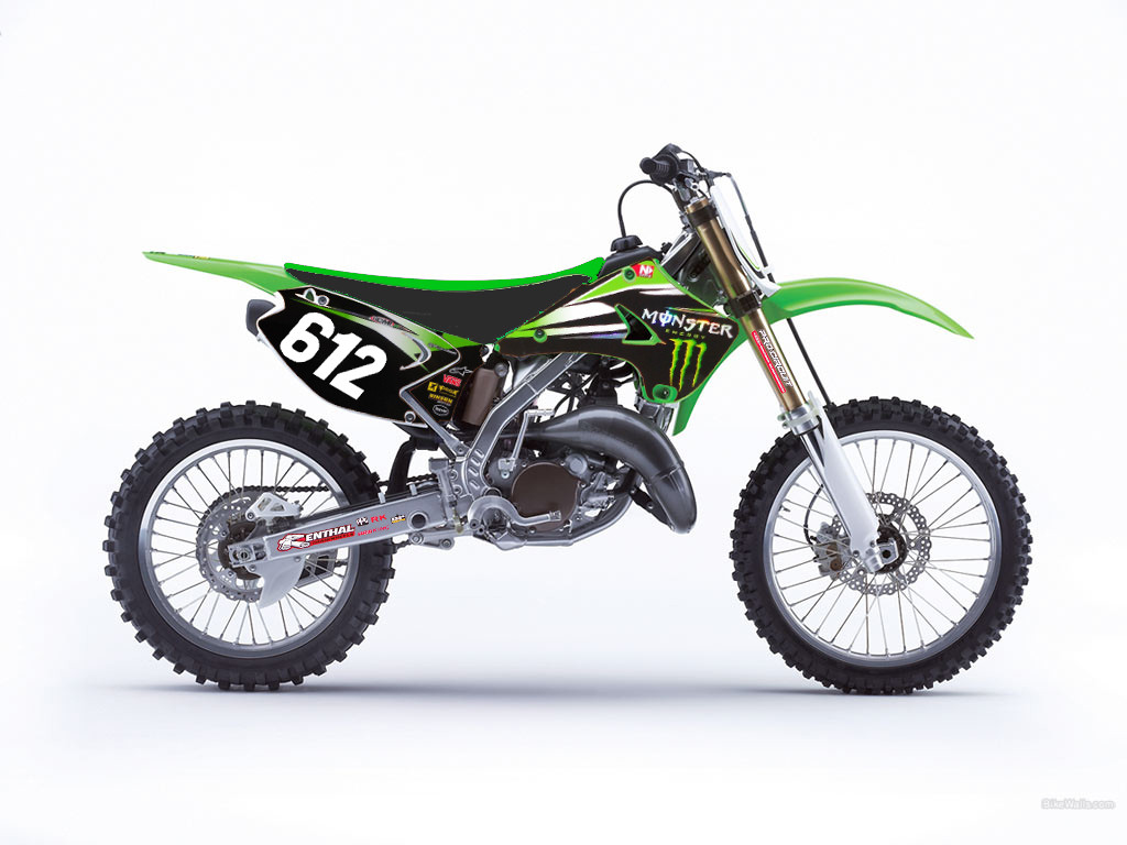 Chevy Parts Store Old school or new school KX125 - Moto-Related - Motocross ...