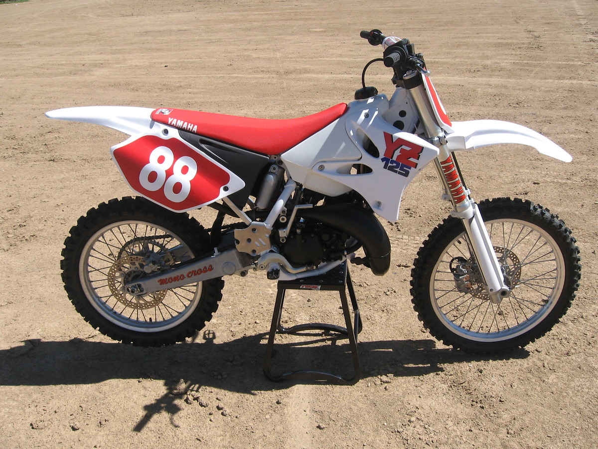 2003 yz 125 retro build finished old school moto motocross forums message boards vital mx. Black Bedroom Furniture Sets. Home Design Ideas