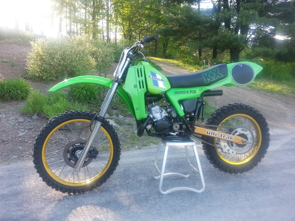1982 kx125 vintage mx restored for sale bazaar motocross forums