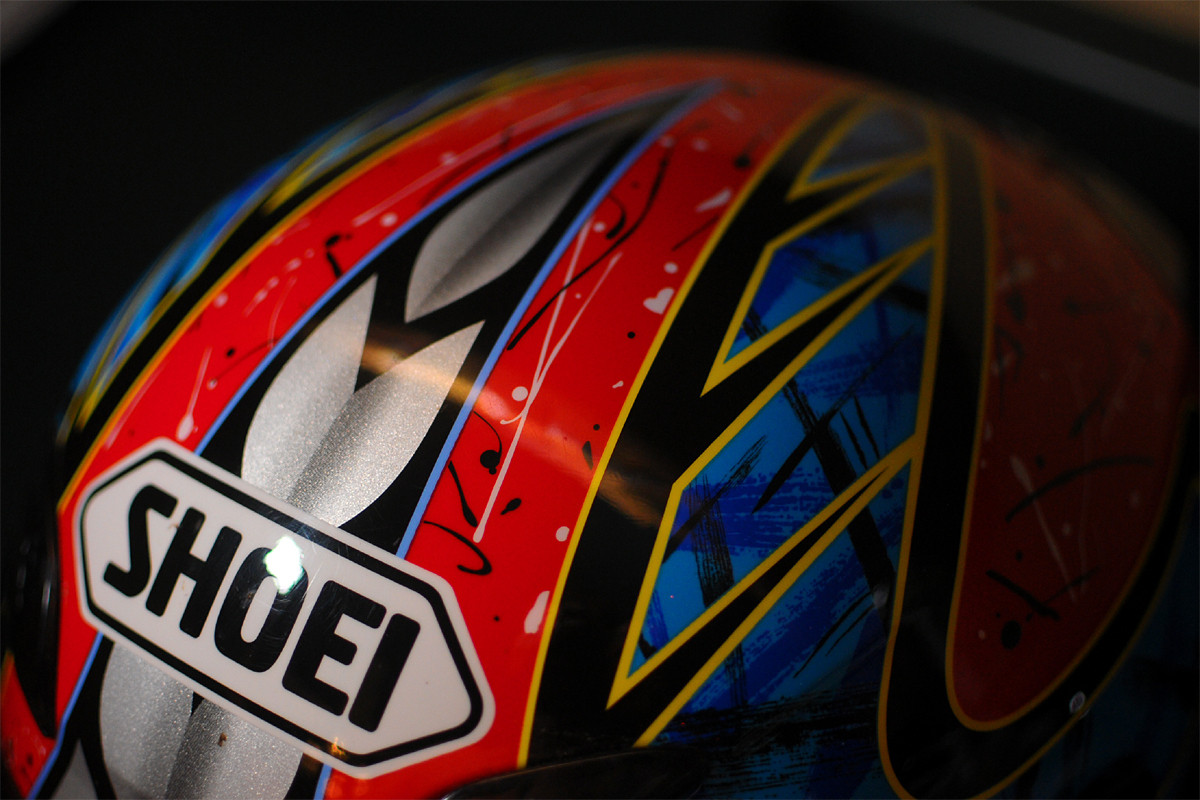 Troy Lee Designs Helmet >> Shoei Troy Lee Designs replica Zempke RF-1000 helmet - For Sale/Bazaar - Motocross Forums ...