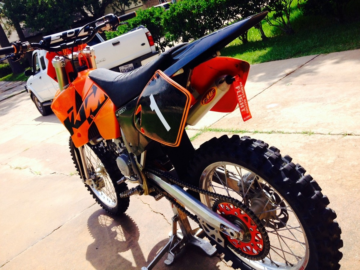 2003 ktm 125sx build! - moto-related - motocross forums / message