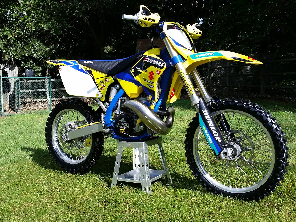 restored/rebuilt 2001 rm 250 - moto-related - motocross forums