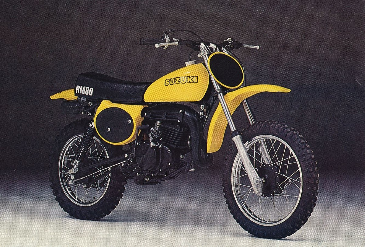 What Was The First Year For The Suzuki Rm80 Moto