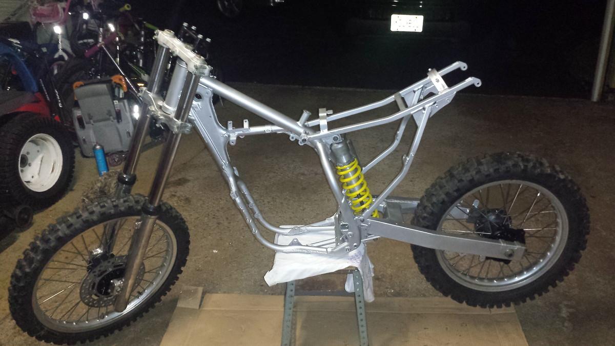 Kawasaki Dirt Bike Frame