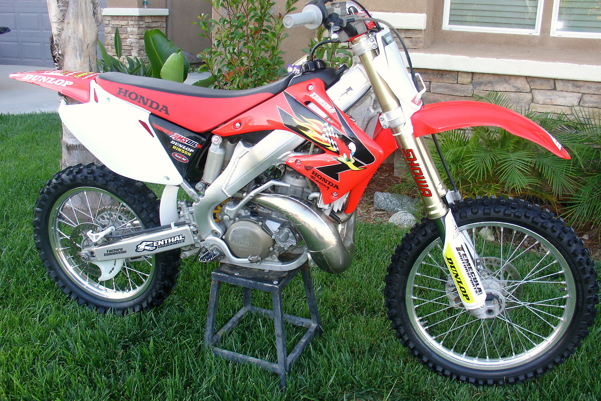2006 honda cr250r cr250 cr 250 for sale bazaar. Black Bedroom Furniture Sets. Home Design Ideas