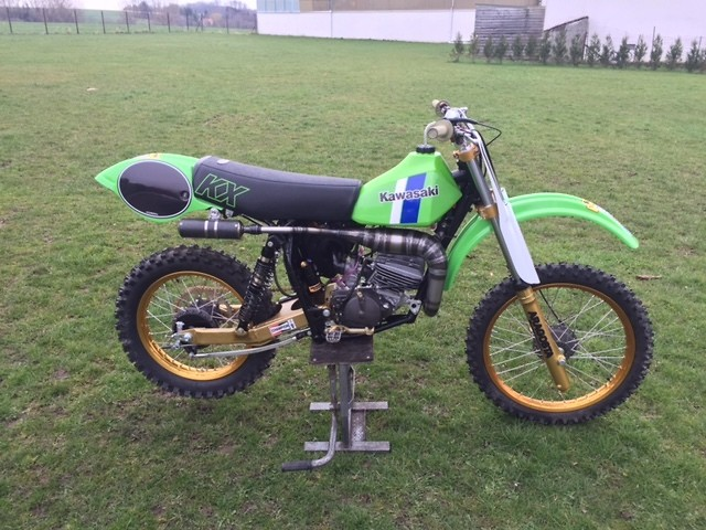 for sale : kawasaki kx 125 - 1980 - old school moto - motocross