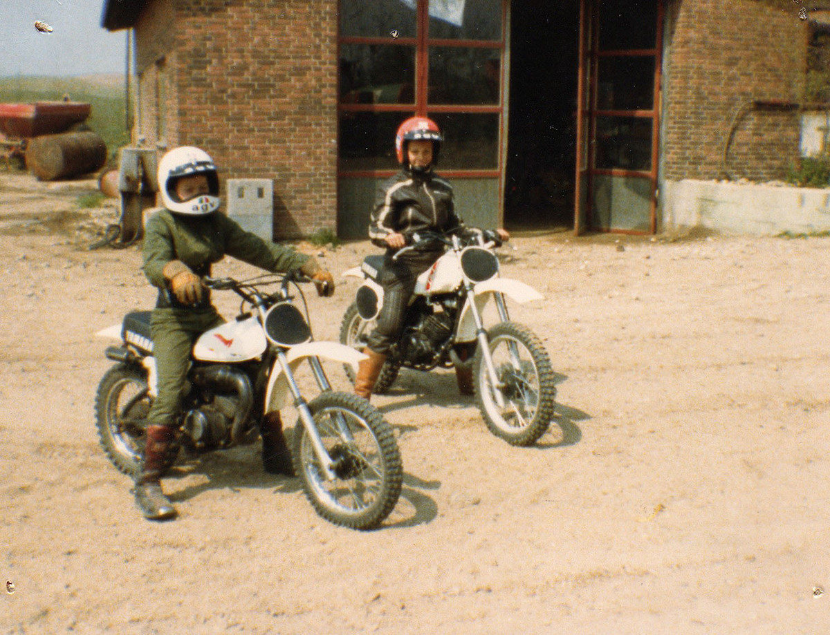 Lets see your list of bikes moto related motocross for 1973 yamaha yz80