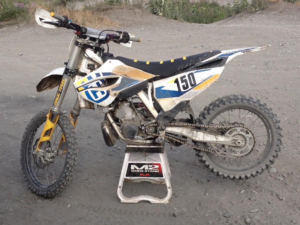 how to break in a dirt bike