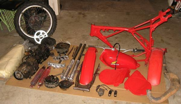 74 TM 250 and 78 CR 125 on Craigslist - Old School Moto ...
